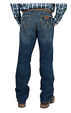 Wrangler Retro Men's San Antonio Wash Relaxed Fit Boot Cut Jean