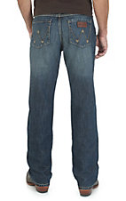 Wrangler Retro Men's Mustang Ridge Wash Relaxed Fit Boot Cut Jean