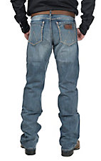 Wrangler Retro Men's Medium Wash Relaxed Boot Cut Jean