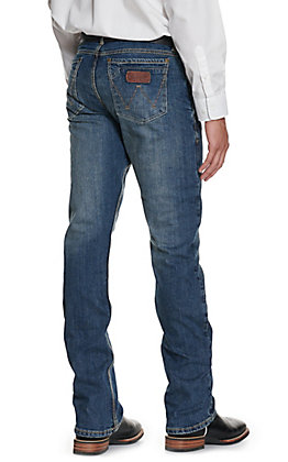 Wrangler Retro Men's Layton Slim Fit Boot Cut Jeans