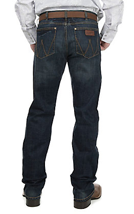 Wrangler Retro Men's Bozeman Wash Slim Comfort Boot Cut Jeans