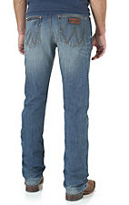 Wrangler Retro Men's Cottonwood Wash Slim Fit Straight Let Open Pocket Jean