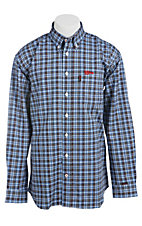 Cinch Men's Flame Resistant Plaid Workshirt WLW3001014