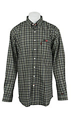 Cinch Men's Flame Resistant Plaid Workshirt WLW3001016