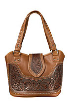 Montana West Tooled Leather Concealed Weapon Bag