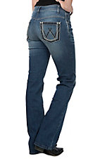 Wrangler Shiloh Women's Dark Stitch Boot Cut Ultimate Riding Jeans