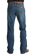 Wrangler Retro Alpine Men's Dark Wash Relaxed Boot Cut Jean
