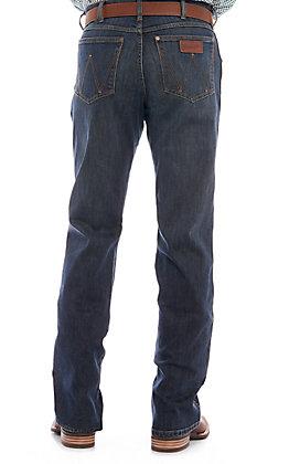 Wrangler Retro Men's Falls City Dark Wash Relaxed Fit Boot Cut Jean