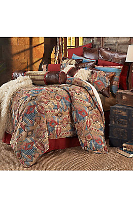 HiEnd Accents Ruidoso Southwestern Chenille Bedding Set - King