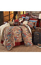 HiEnd Accents Ruidoso Southwestern Chenille Bedding Set - Queen