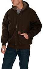 Cowboy Workwear Dark Brown Hooded Coat