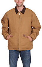 Cowboy Workwear Tan Fleece Lined Coat  WSRNCTFT