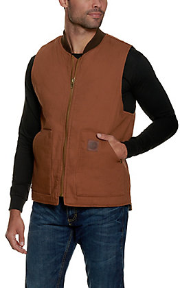 Cowboy Workwear Clay Brown Work Vest