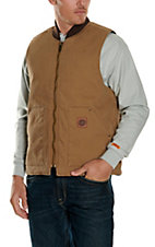 Cowboy Workwear Washed Tan Work Vest