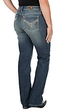 Wrangler Aura Medium Wash Instantly Slimming Ladies Jean