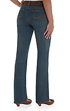 Wrangler Aura Tinted Mid-Stone Instantly Slimming Ladies Jean