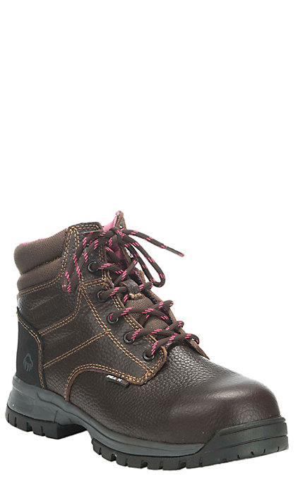01321a39941 Wolverine Piper Women's Brown Waterproof Round Composite Toe 6