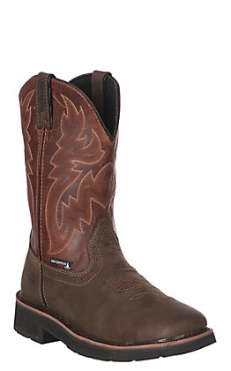 Wolverine Men's Wellington Rancher Waterproof Square Toe Work Boot