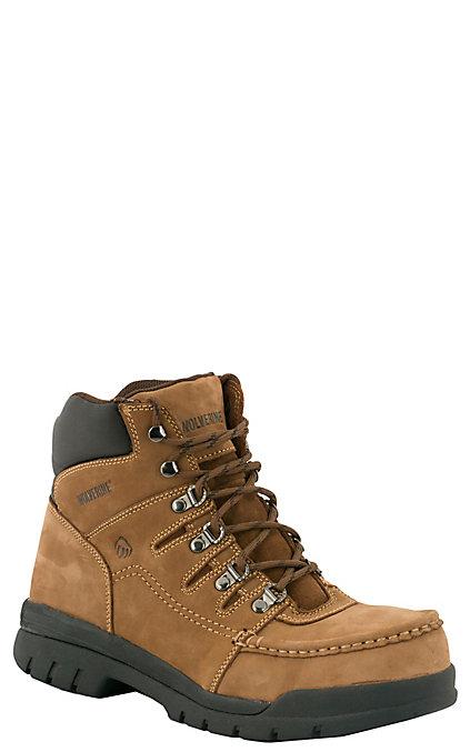 c9422d51c19 Wolverine Potomac Men's Brown Moc Steel Toe 6