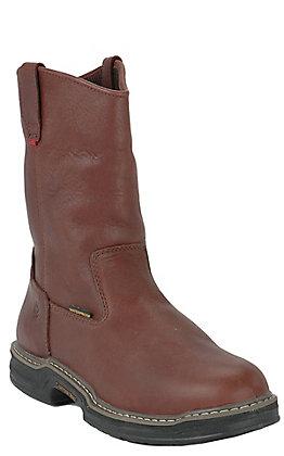 Wolverine Buccaneer Men's Waterproof Round Steel Toe Wellington Work Boots