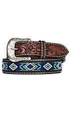 Twisted X Beaded Blues Western Fashion Belt