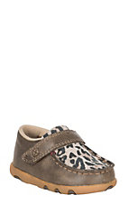 Twisted X Infant Bomber w/ Leopard Velcro Casual Shoe