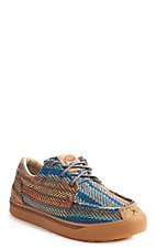 Twisted X Men's Hooey Lopers Multi Pattern Lace Up Casual Shoe