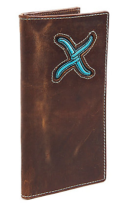Twisted X Men's Turquoise Inlay Rodeo Wallet