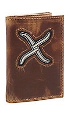Twisted X Men's White Tri-Fold Wallet
