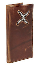 Twisted X Men's White Inlay Rodeo Wallet