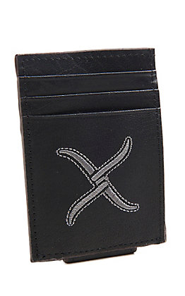 Twisted X Men's Black Magnetic Money Clip