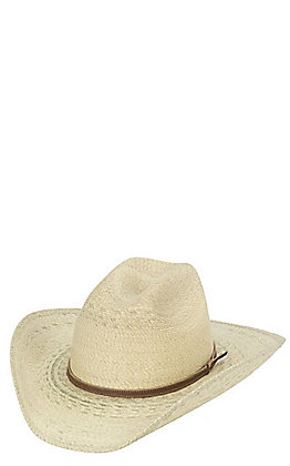 Atwood Marfa Kids' Extra Small Palm Leaf Cowboy Hat