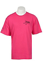 Twisted X Tough Enough To Wear Pink Adult Pink Short Sleeve T-Shirt
