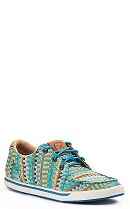 Twisted X Women's Kicks Blue Mirage Lace Up Sneakers Casual Shoe