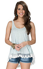 PPLA Women's Mint Sycamore Tank Top