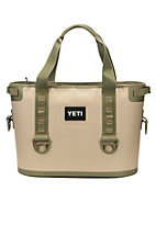 YETI Hopper 20 Portable Cooler - Field Tan / Blaze Orange