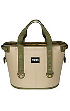 YETI Hopper 30 Portable Cooler - Field Tan / Blaze Orange