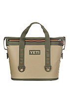 YETI Tan/Orange Hooper Two 20