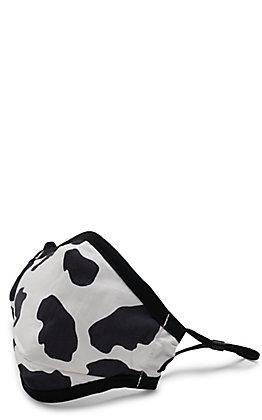 Kid's Cow Print Cloth Mask