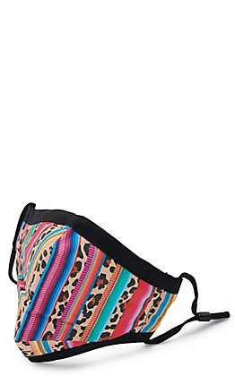 Kids' Leopard Serape Cloth Face Mask with Filter