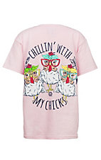 Girlie Girl Originals Youth Light Pink My Chicks T-Shirt