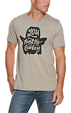Rodeo Time Dale Brisby Men's You Aint No Cowboy T-Shirt