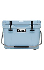 YETI Ice Blue Roadie 20 Cooler
