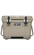 YETI Tan Roadie 20 Cooler