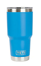 YETI 30 oz Tahoe Blue Tumber with Lid