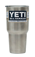 YETI 30oz Stainless Steel Rambler Tumbler with Lid