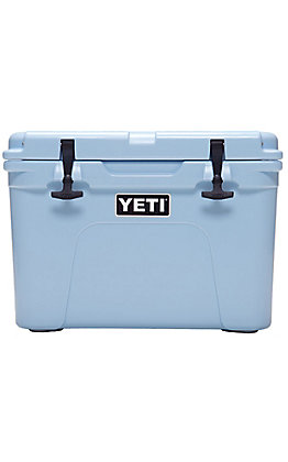 Yeti Ice Blue Tundra 35 Cooler