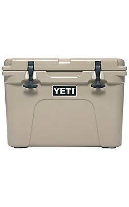 YETI Tan Tundra 35 Cooler