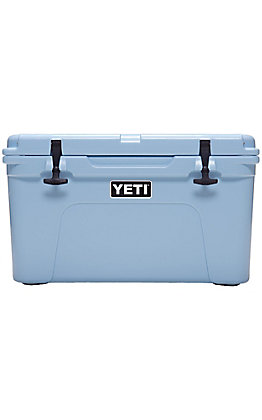 Yeti Ice Blue Tundra 45 Cooler