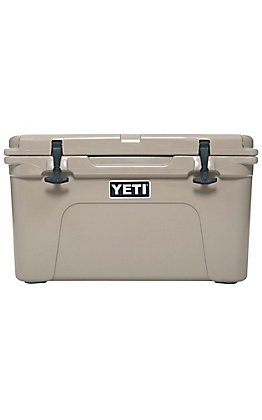 YETI Tan Tundra 45 Cooler